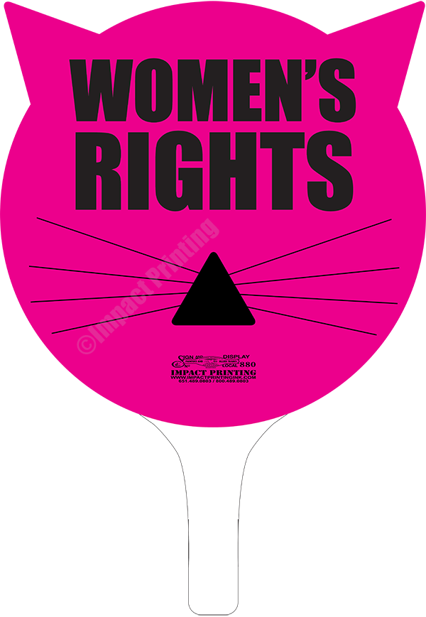 Cats Head Women's Right Sign by Impact Printing for sale now in Impact Printing online store.