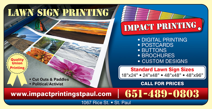 Impact Printing Digital Printing Postcards Buttons Brochures Custom Designs Saint Paul MN
